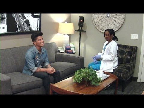 Ellen's In Bruno Mars' Ear video