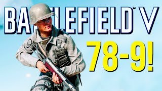 Battlefield 5: 78-9 Beasting (PS4 Pro Multiplayer Gameplay)