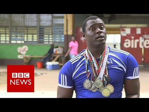 Sierra Leone's homeless Paralympian - BBC News