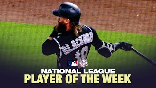 Charlie Blackmon is the National League Player of the Week (6/10 to 6/16)