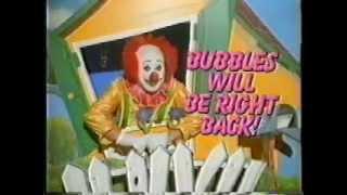 Artie Widgery as Bubbles the Clown for Bobs Big Boy Restaurants