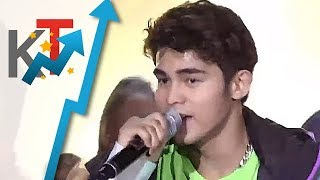 Erik Santos, Darren Espanto and Inigo Pascual heat up the dance floor