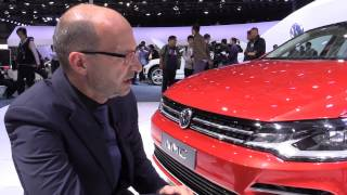 Volkswagen NMC New Midsize Coupé with VW passenger cars Head Designer Klaus Bischoff