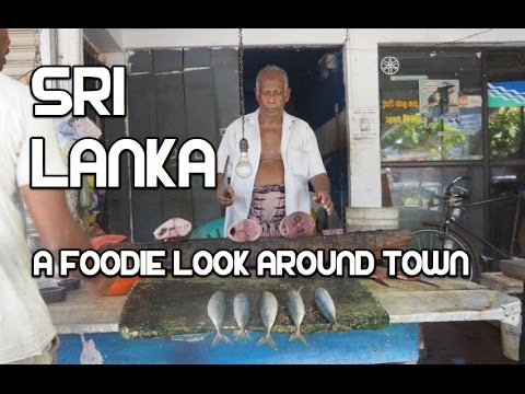 Sri Lanka - A Foodie Drive Around
