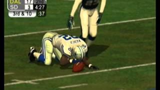 Nfl 2K5 Season super bowl San Diego Chargers Vs Dallas Cowboys 2015