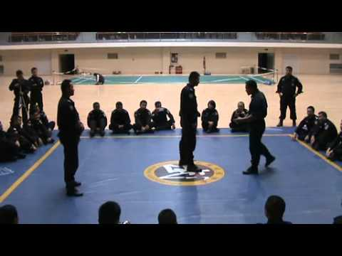 Kung Fu(Sanshou) Training of  Chinese Armed Police