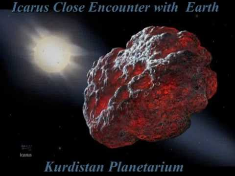 Asteroid 1566 Icarus Close Encounter with Earth 16 Jun 2015