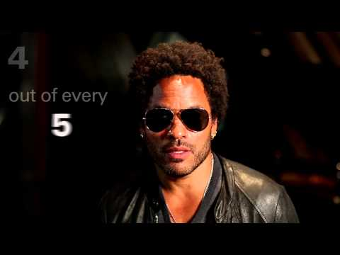 "Lenny Kravitz: ""Take a minute"""
