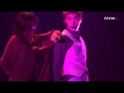 [Fancam] 121222 Back2U - Wooyoung (JWY)  (2PM