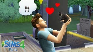 ADOPTING MY VERY FIRST BABY KITTEN! SIMS 4 PETS