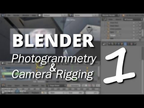 Blender Photogrammetry Tutorial - Part1