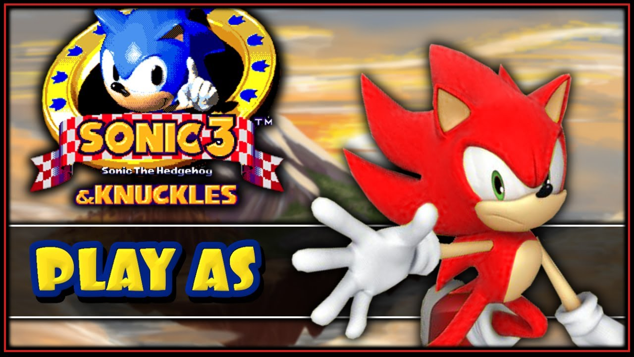 Super Knuckles vs Super Sonic Sonic 3 Knuckles How to