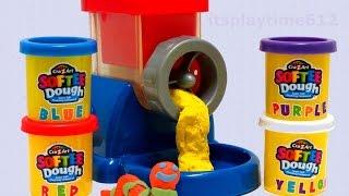 Cra-Z-Art SOFTEE Dough Magic DOUGH Machine Mix'n Fun Learning Colors - itsplaytime612