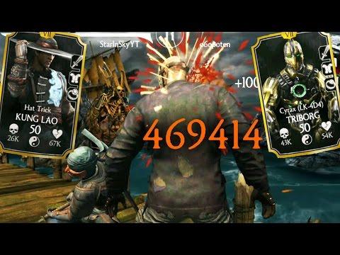 INSANE CRITICAL DAMAGE TEAM! Mortal Kombat X Mobile