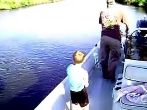 Calcasieu Hot Spots Charters red fish caught by kid