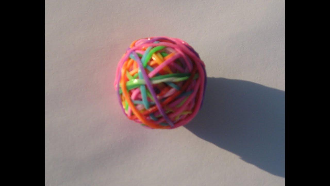 Как из резинок сделать мяч