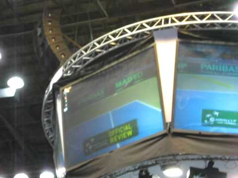 Hawk eye in Davis Cup- quarterfinal- Israel vs. Russia 2009