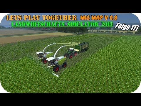 Landwirtschafts Simulator 2013 (Tino) #177 - Ganz schlaue CPU ★ Let's Play Together ★