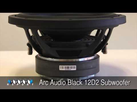 Arc Audio Black 12D2 Subwoofer