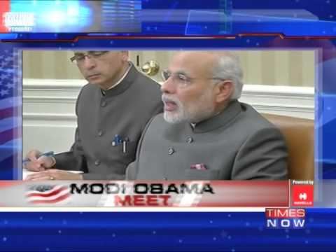 Narendra Modi and Barack Obama vow to boost ties