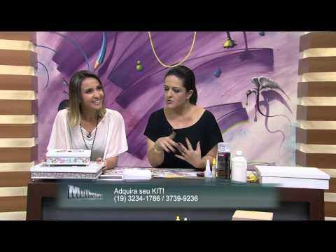 13/09/2013  Mulher.com- Conjunto de caixas com 3D- Marisa Magalhães - (Bloco 1/2)