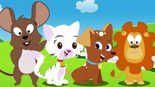 Canção de som animal   Rimas infantis   Canções de bebê   Animal Sound Song   Kids Songs
