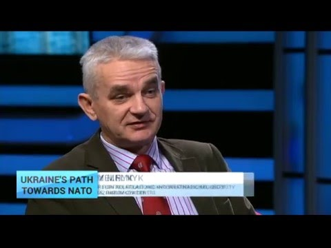 'A strong military - not NATO – is the best way to guarantee Ukraine's security'