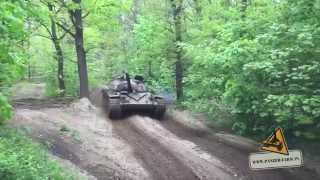 T-72 RUSSIAN V12 first ride after main repairs BEAST SOUND