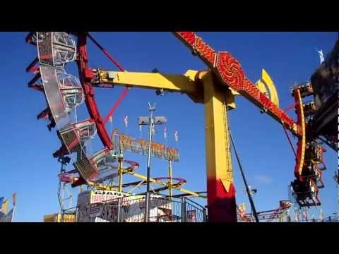 CNE Midway Rides 2012 (Canadian National Exhibition)