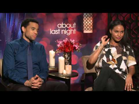Michael Ealy & Joy Bryant Talk One Night Stands & About Last Night With Mz. Janee
