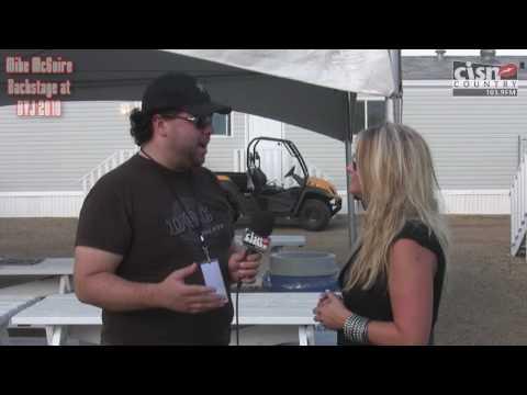 MIRANDA LAMBERT and DOC WALKER with CISN's Mike McGuire at Big Valley Jamboree 2010 BVJ