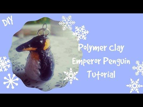 Polymer Clay Emperor Penguin Tutorial