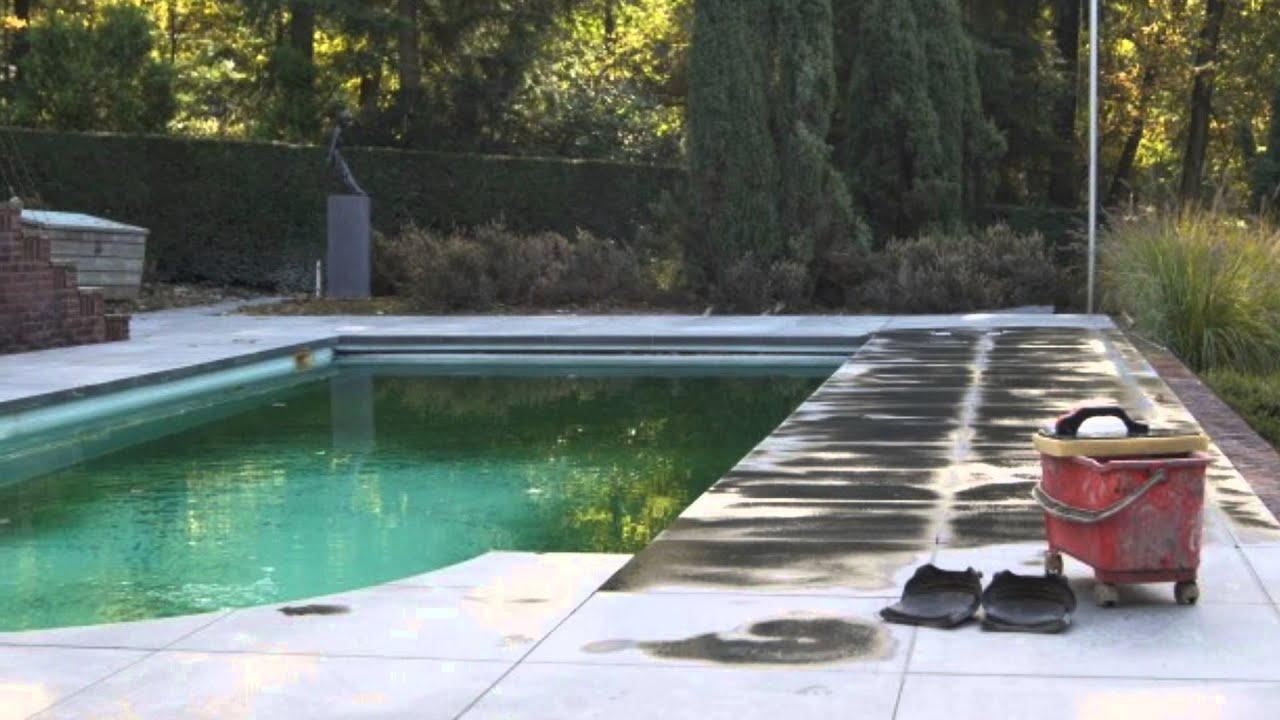 Aannemersbedrijf j ter horst bv renovatie zwembad holten youtube - Zwembad terras outs ...