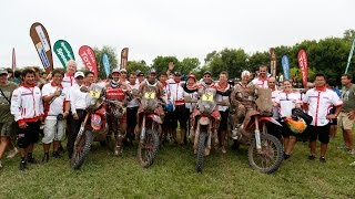 Dakar Rally 2015 Team HRC Stage 13