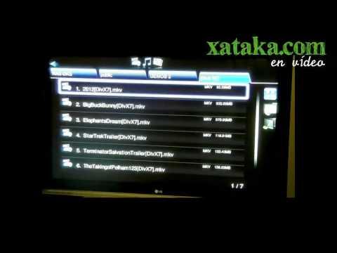 HD-500. centro multimedia con canales de televisión online