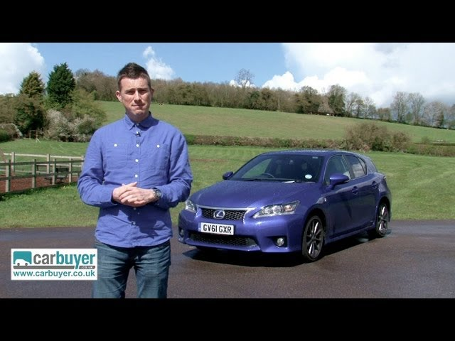 Lexus CT 200h hatchback review - CarBuyer - YouTube