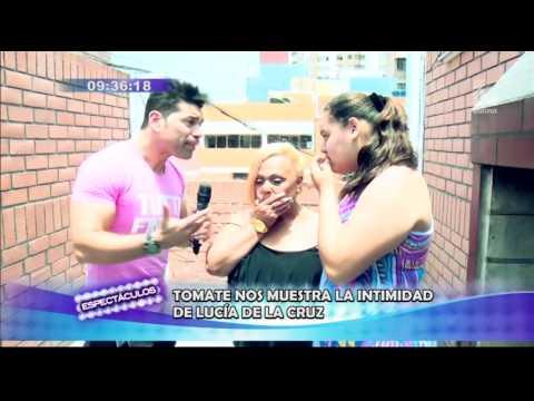 Lucía de la Cruz se confesó con Tomate Barraza