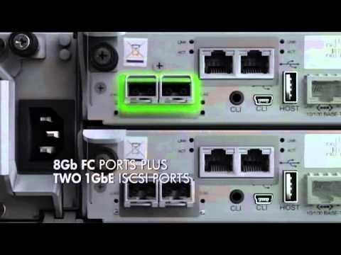 Hp Storageworks Modular Smart Array P2000 G3 Iscsi Youtube