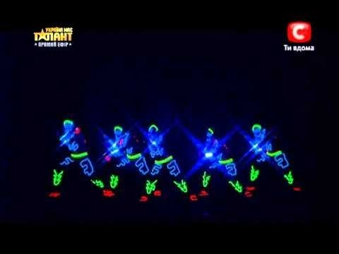 BRITAIN'S GOT TALENT 2014 AUDITIONS - LIGHT BALANCE (UKRAINIAN DANCE TROUPE)