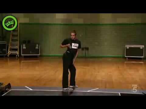 mr.fantastic robot dance