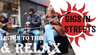 Bebo & Cigala, Lagrimas Negras LIVE cover in Notting Hill - Busking in the streets of London, UK