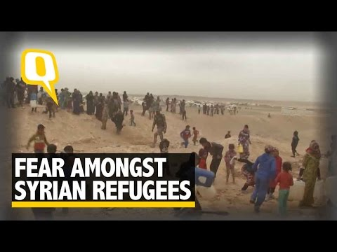 The Quint: Post Violence in Aleppo, Refugees Stranded at the Syrian-Jordan Border