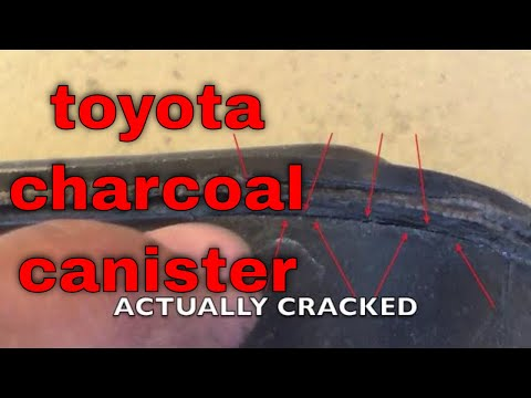 SOLVED P0446 diagnose repair charcoal canister Toyota Tacoma √