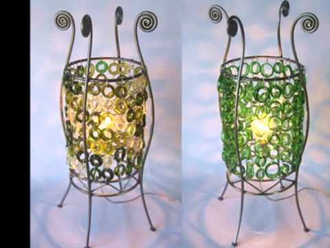 Reciclajes de botellas de vidrio imagui for Reciclar botellas de vidrio
