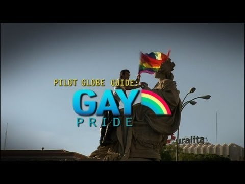 Pilot Globe Guides - Gay Pride