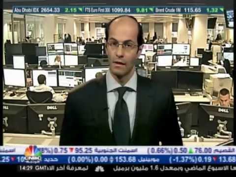 أشرف العايدي على سي ان بي سي عربية -- 11 اكتوبر 2012 Chart