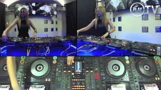 4 CDJs mixing by Djane Djoly Vol2 Live on Play TV
