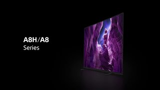 Sony - BRAVIA - A8H/A8 Series - 4K HDR OLED with Google Assistant