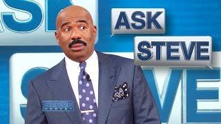 Ask Steve: Don't correct me! || STEVE HARVEY