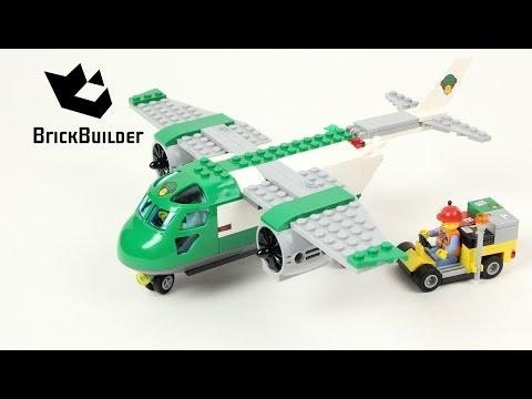 Lego City 60101 Airport Cargo Plane - Lego Speed Build